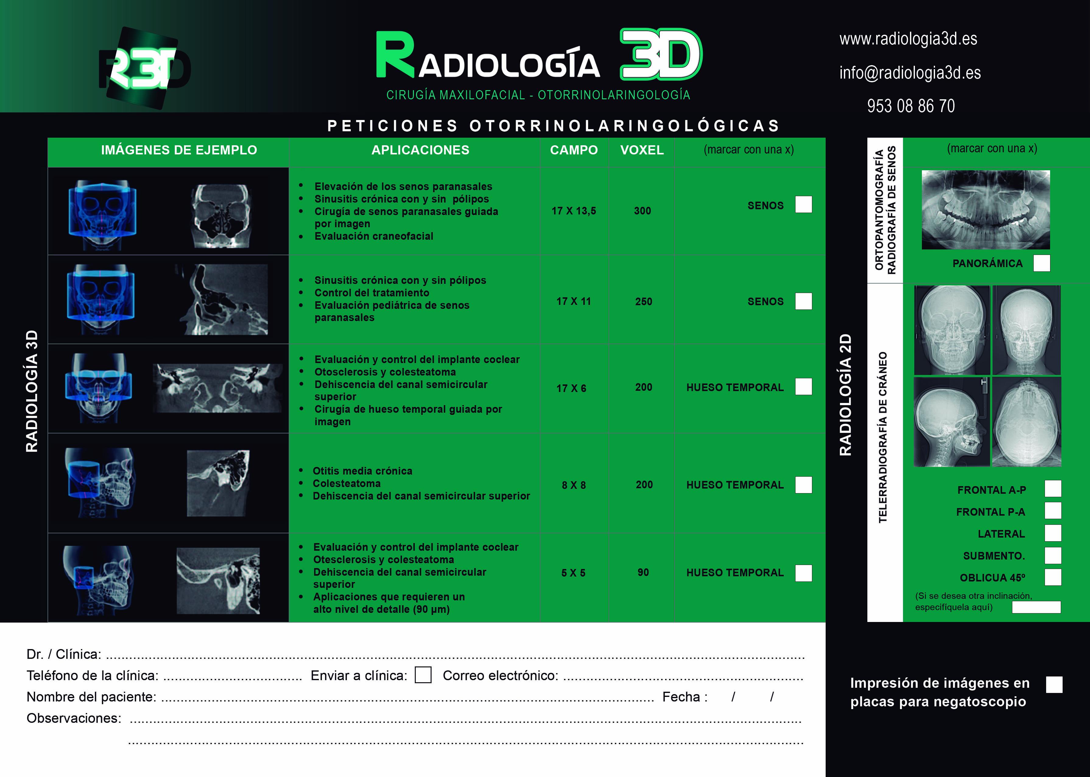 Radiología 3D - Nuestro CBCT